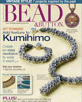 Журнал Bead & Button, февраль 2014
